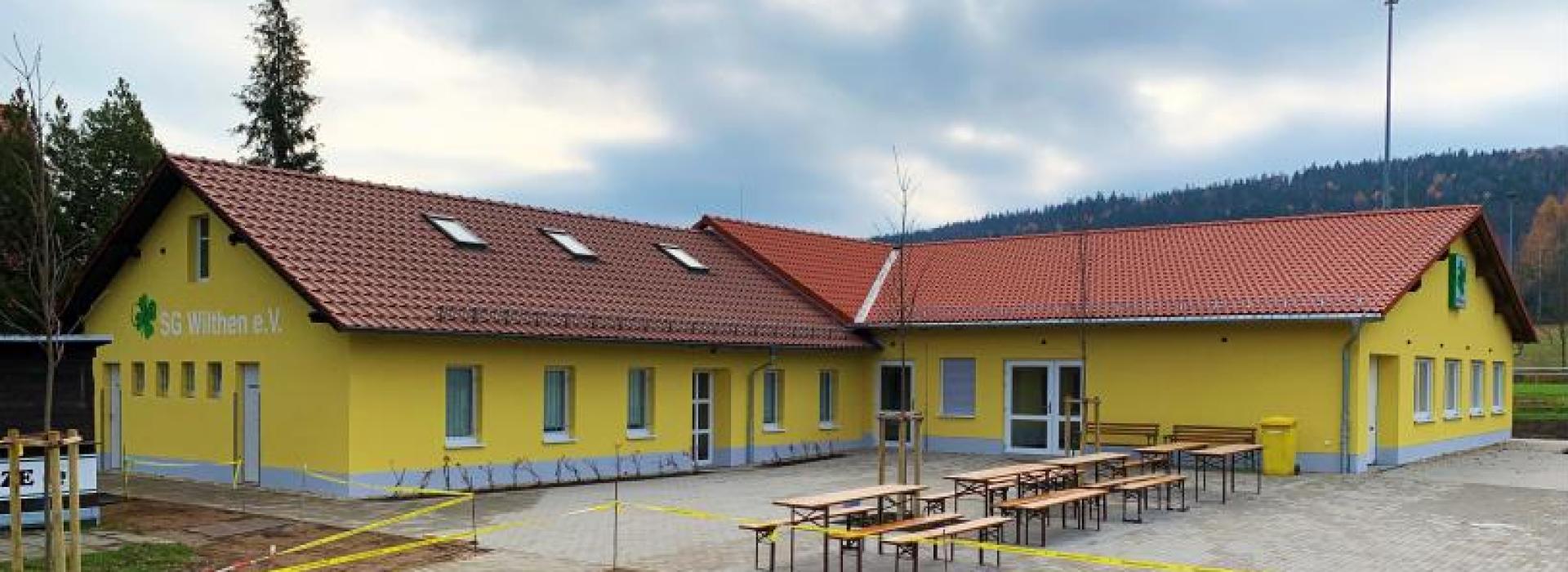 Unser neues Vereinsheim