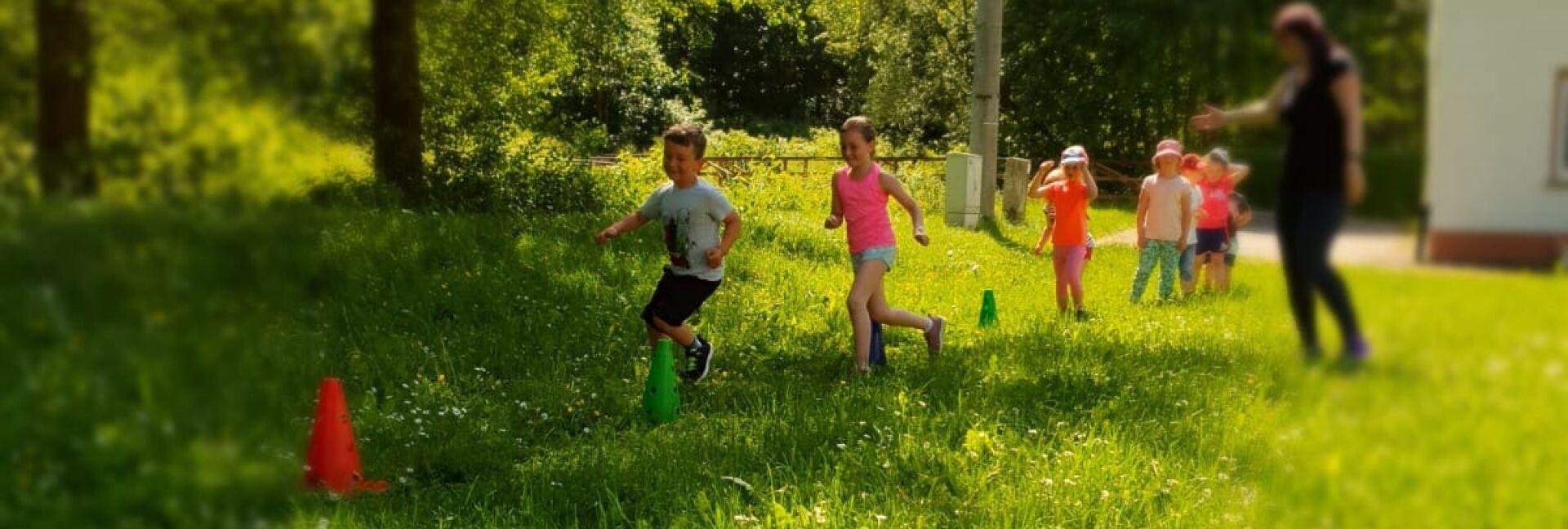 Kindersport im Freien
