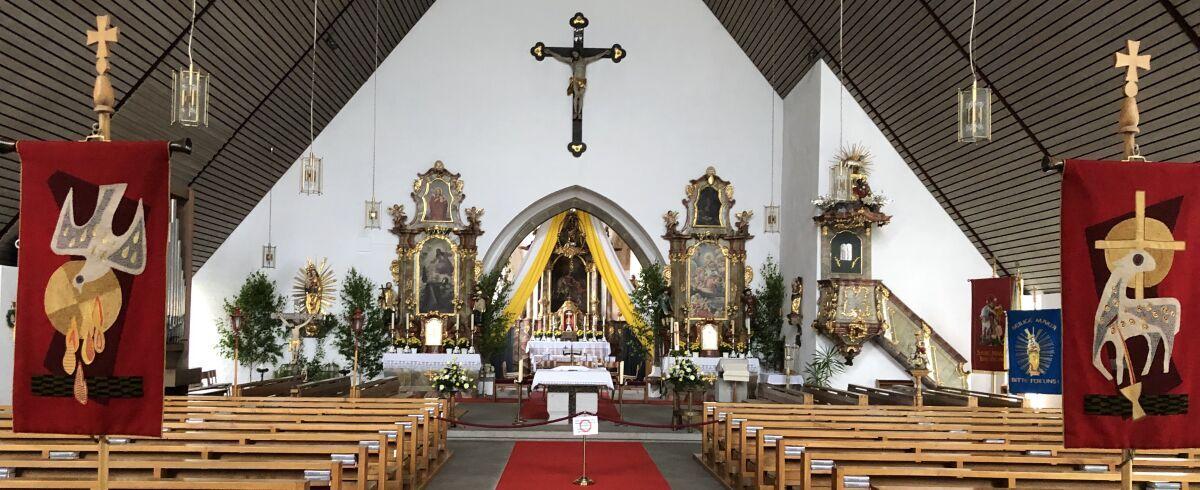 Pfarrkirche St. Martin Miltach (Innen)