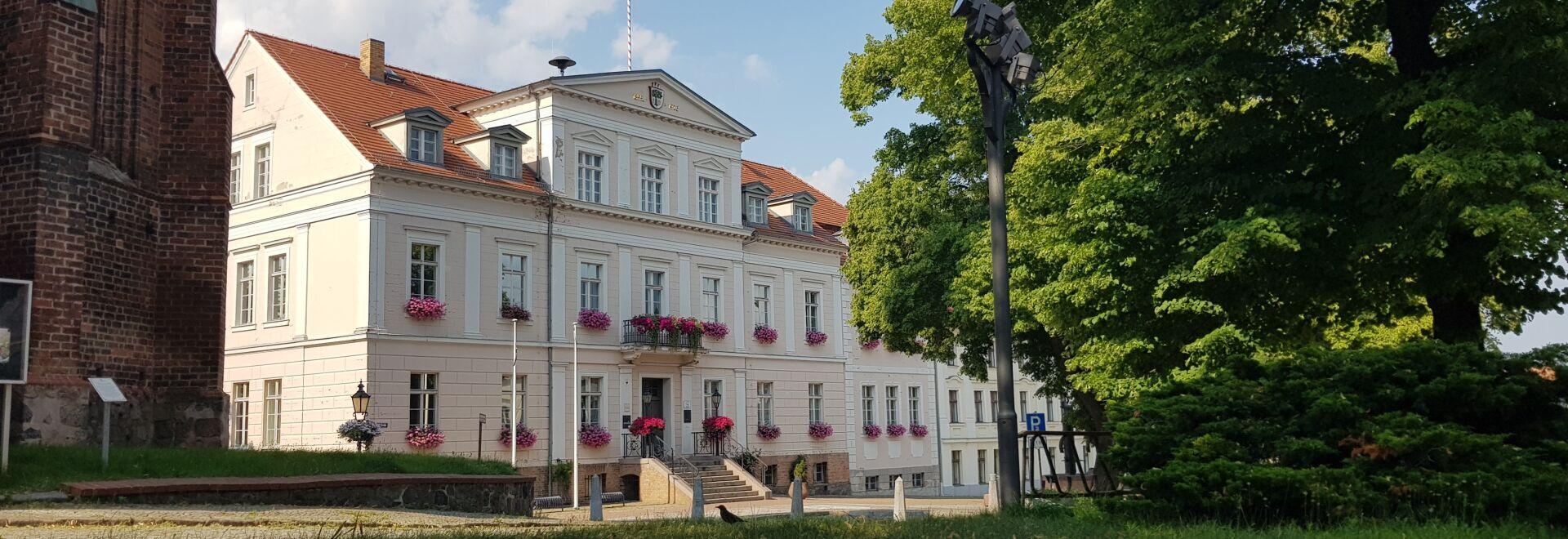 Rathaus der Stadt Bad Freienwalde