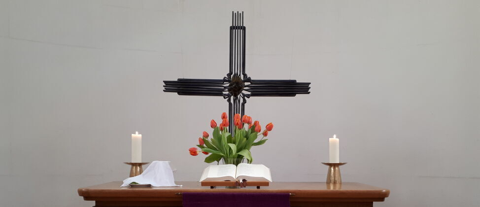 Altar der Lukaskirche