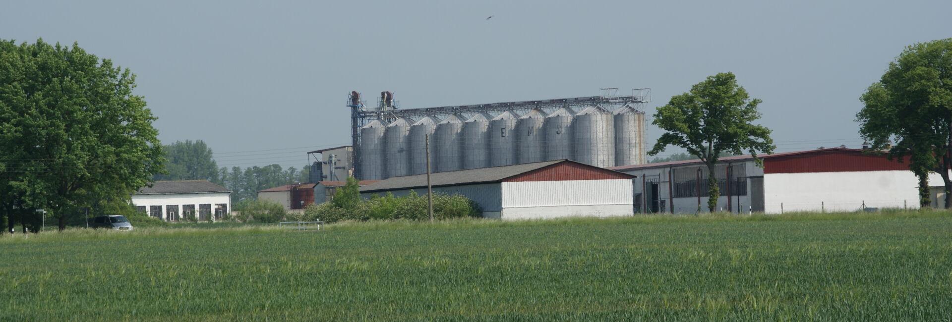Getreidespeicher in Golzow