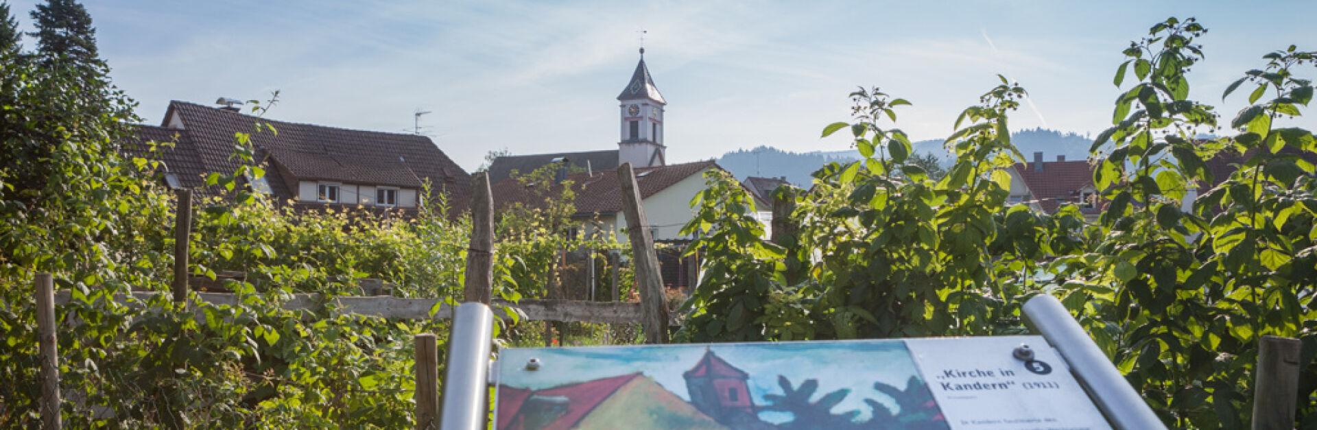 In den Gärten / Kirche