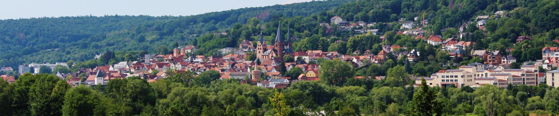 Ein Blick auf die Kreisstadt Gelnhausen