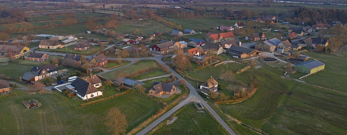 Luftaufnahme Ortsteil Bargen