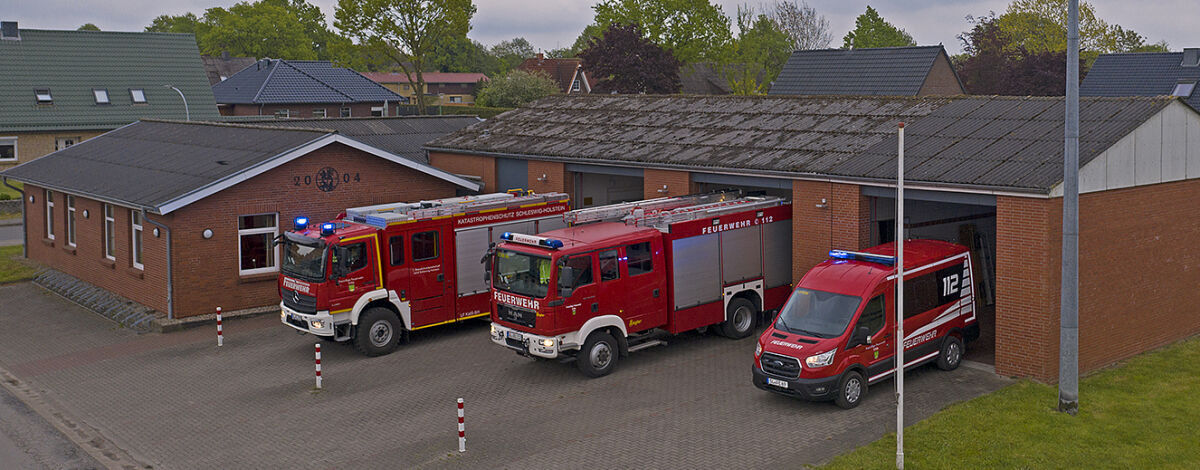 Feuerwehrgerätehaus Ortswehr Erfde