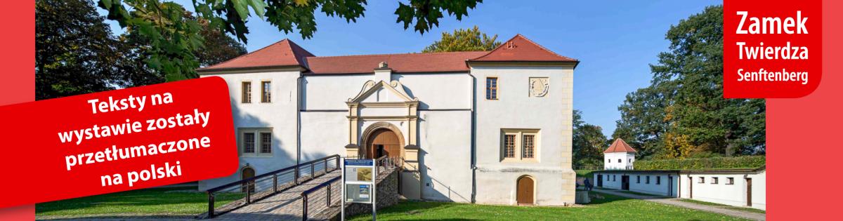 Banner Schloss und Festung_Polnisch