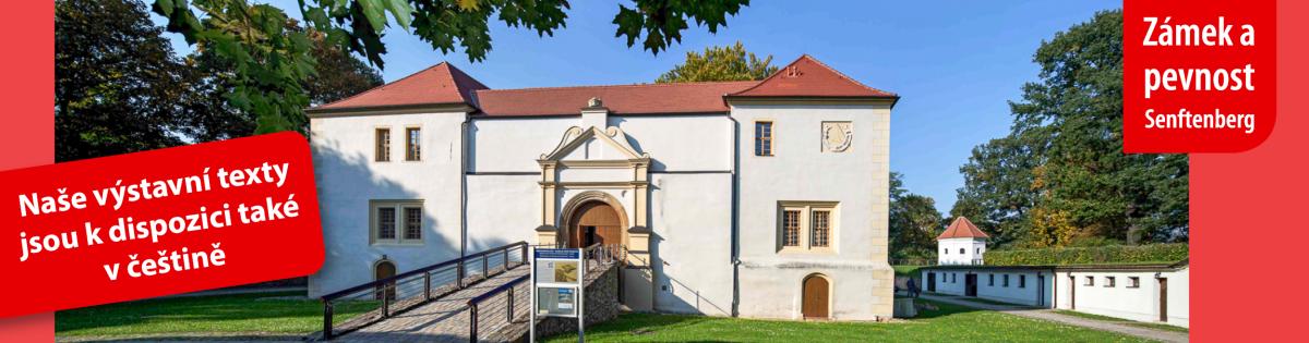 Banner Schloss und Festung_Tschechisch