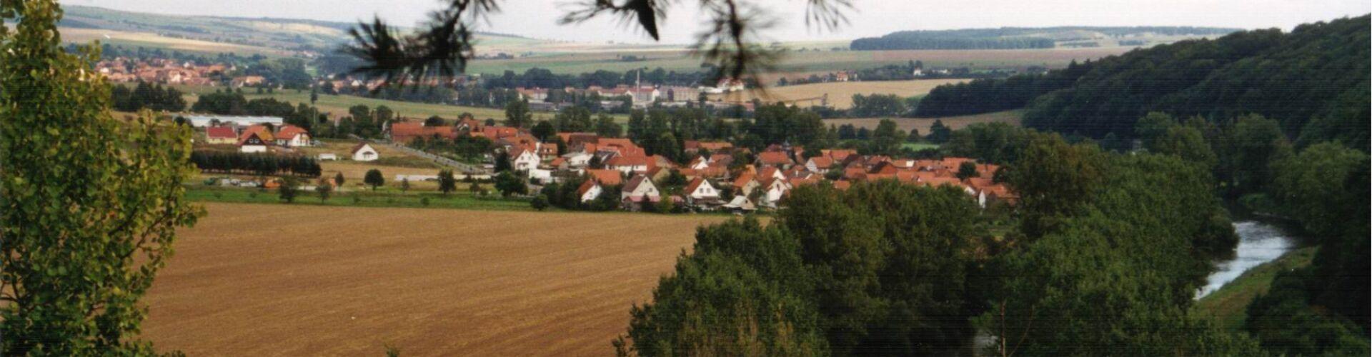 Blick auf Ebenshausen