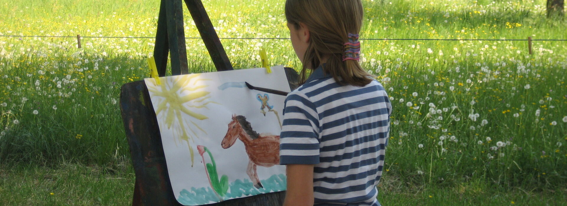 malendes Kind_Sommerferienprogramm