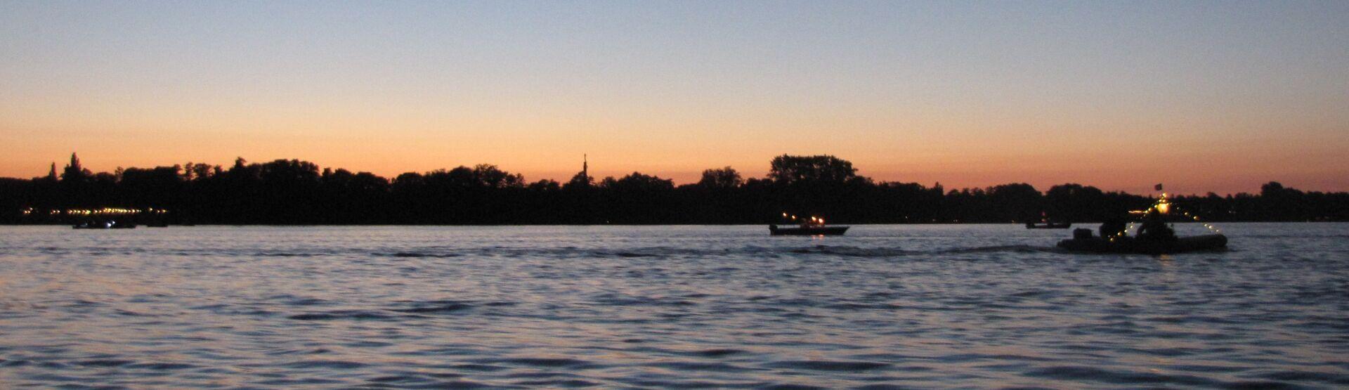 Abendrot Lichterfahrt 2013
