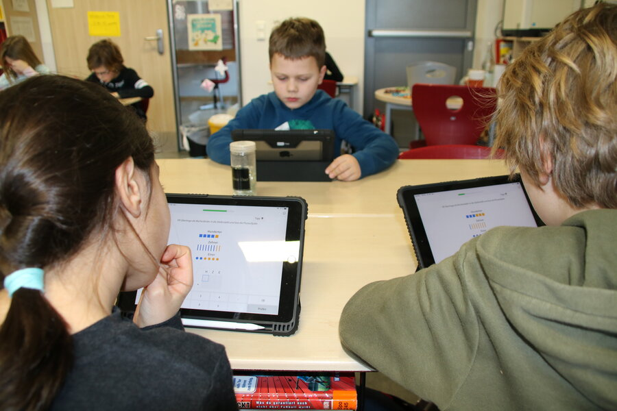 Stadtschule Bad Oldesloe - iPad